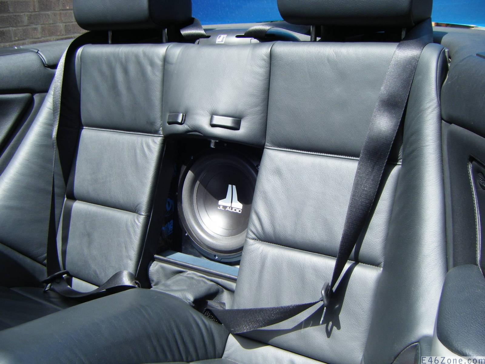 Convertible Sub Install Done With Pics Ice E46 Zone Subwoofer Wiring Diagram Gallery 3854 430 152221