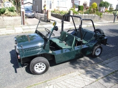 Mini Moke not mine it belongs to a mate