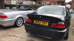 bmw 325i msport in oxford green