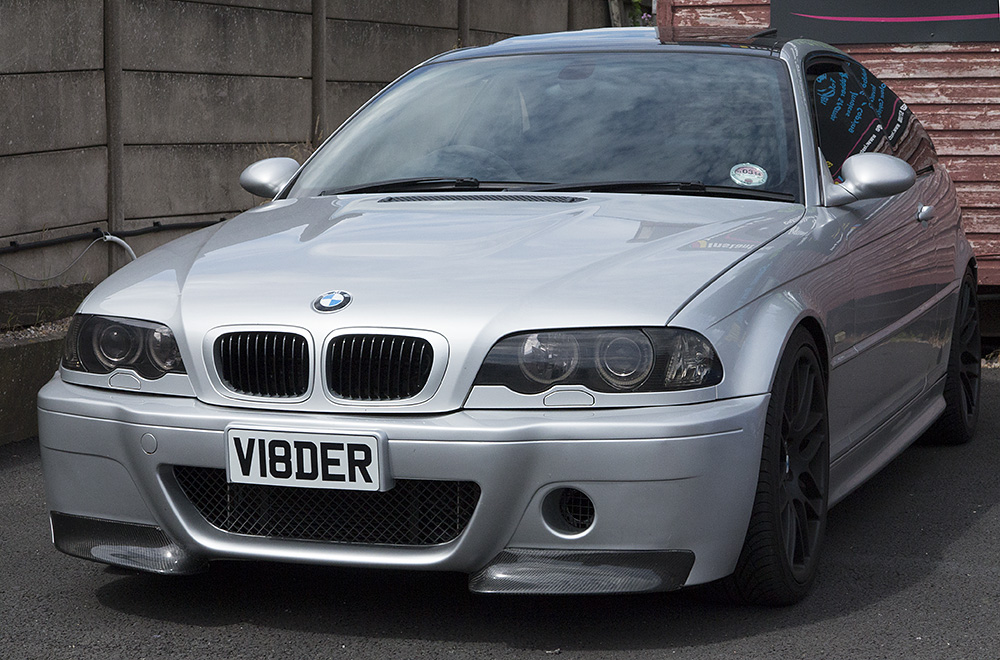 I bought a japanese number plate holder and trimmed the bottom off to 110mm fits the short plate brill and looks loads better inho & Front number plate look crap! - Page 3 - The M3cutters - UK BMW M3 ...